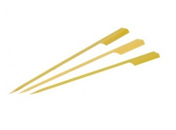 mini stecchini spiedini legno bamboo finger food
