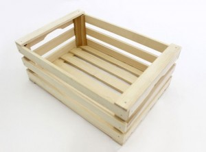 mini cassetta frutta legno naturale