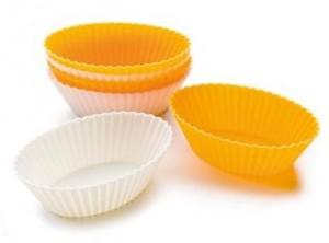 stampo muffin silicone ghidini ovale