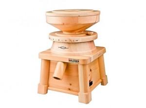 mulino elettrico macina cereali legno waldner family