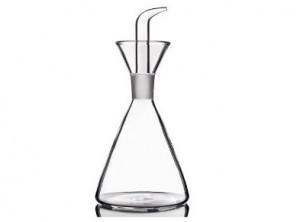 oliera vetro soffiato con beccuccio versatore