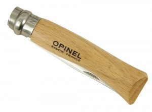 coltello tasca opinel lama inox virobloc