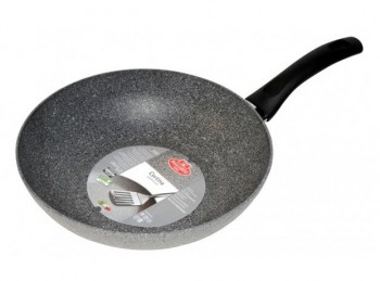 padella wok saltapasta effetto pietra antiaderente ballarini