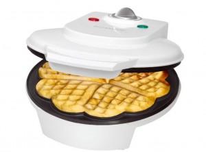 piastra cuoci waffel automatica elettrica bomann