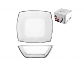 piatto fondo ciotola insalata vetro quadro tokio
