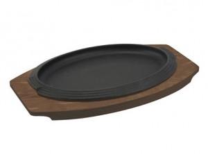 vassoio piatto portata ghisa da tavola ilsa ovale
