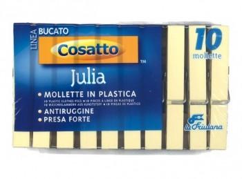 mollette stendi biancheria plastica extra forti julia