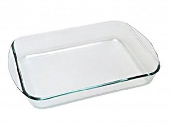 pirofila vetro teglia forno pyrex cm 40