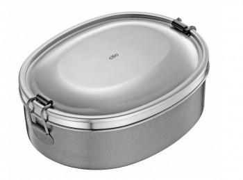 scatola ovale lunch box acciaio inox cilio