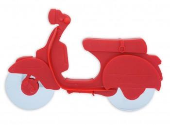 rotella tagliapizza lama antiaderente naylon scooter