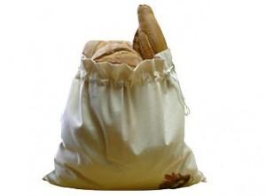 sacchetto porta pane fresco cotone