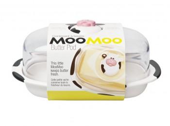 burriera copri panetto burro plastica soggetto mucca