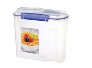 scatola box porta cereali farine plastica sistema