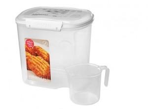 barattolo contenitore farina riso pasta sistema