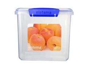 scatola plastica ermetica frigo freezer sistema