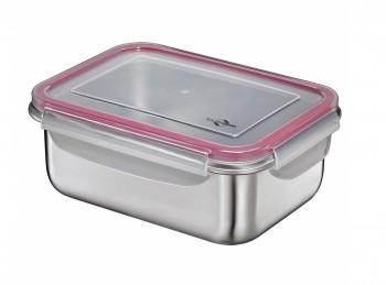 scatola contenitore lunch box per pranzo fuori in acciaio