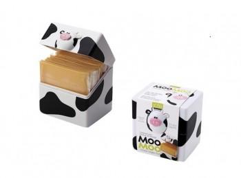 scatola porta sottiletta formaggio soggetto mucca
