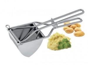 schiaccia patate purea verdure inox eva
