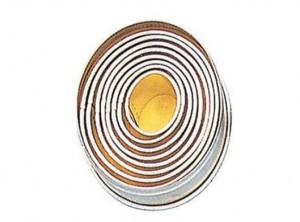 serie anelli taglia pasta biscotti forma ovale paderno