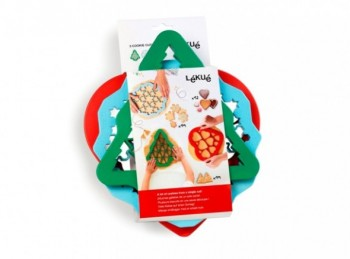 set kit taglia pasta biscotto frollino serie lekue