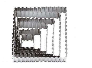 serie 6 tagliapasta pasticceria quadrato festonato paderno