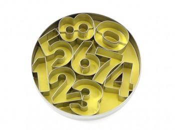 serie taglia pasta biscotti frollino numeri