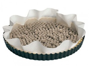 sfere palline ceramica cottura pasta frolla brisè kuchenprofi