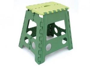 sgabello scaletta salva spazio pieghevole plastica