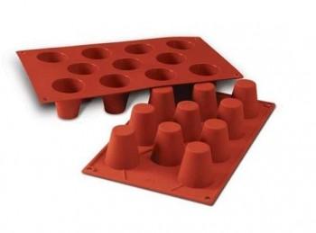 stampo silicone semifreddo forma babà silikomart