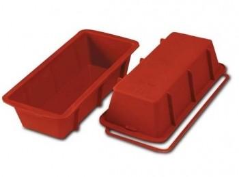 stampo forma plumcake silicone italiano silikomart