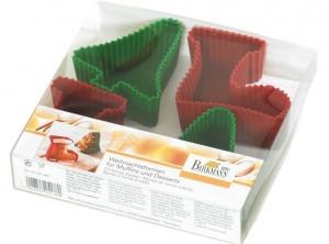 stampi muffin natale silicone birkmann