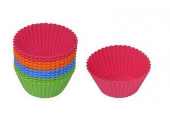stampini per muffin rotondi in silicone