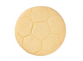 stampino taglia biscotti frollino forma pallone calcio