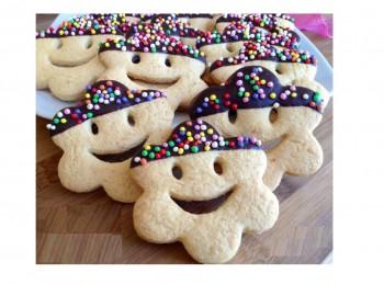 stampino biscotti fiore smile con sorriso