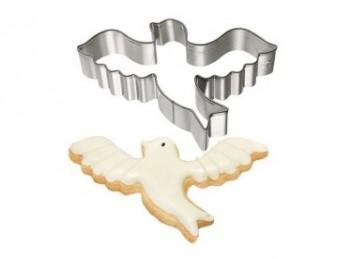 stampo taglia pasta biscotti colomba ali aperte pasqua birkmann