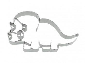 stampino taglia biscotti dinosauro triceratopo