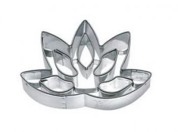 stampo forma taglia pasta biscotti fiore lotus birkmann