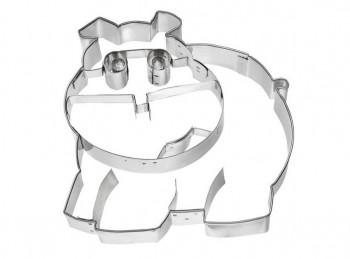 stampino biscotti frollino ippopotamo birkmann