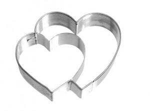 stampo tagliapasta cuore doppio birkmann
