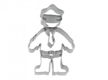 stampino taglia biscotti frollino poliziotto birkmann