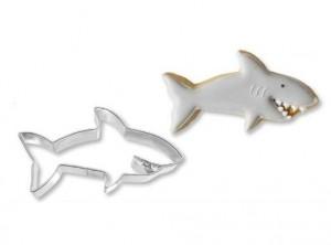 stampo taglia biscotti forma squalo