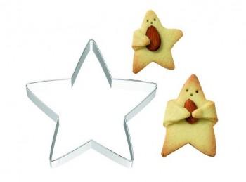 stampino taglia pasta biscotto frollino coccolo stella