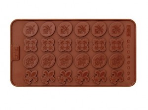 stampo forma cioccolatini diadema birkmann
