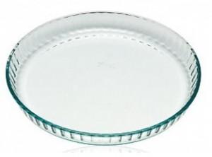 stampo tortiera crostata vetro pyrex 30