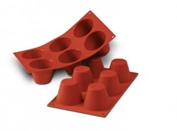 stampo forma silicone maxi dolcetti tondi silikomart