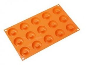 stampo forma mini ciambelle donuts silicone