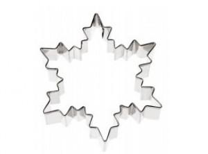 stampo forma taglia biscotti fiocco di neve paderno