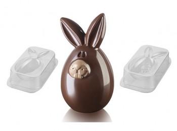 stampo uovo cioccolato forma coniglietto pasqua