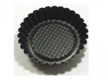 stampo forma mini crostatina tartelletta antiaderente con scalino vespa