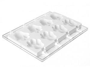 stampo forma gelati stecco silicone silikomart